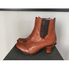 Santiags, bottines, low boots cowboy Stéphane Gontard  pas cher