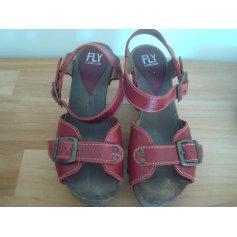 Sandales à talons Fly London  pas cher