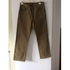 Pantalon droit Marlboro Classics  pas cher