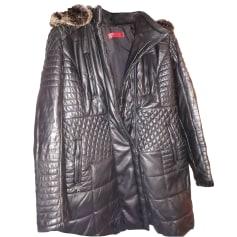 Manteau en cuir Giorgio  pas cher