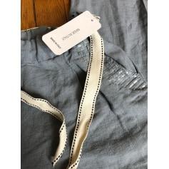 Pantalon droit Made In Italie  pas cher