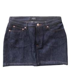 Jupe en jean APC  pas cher