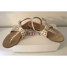 Sandales plates  Red Valentino  pas cher
