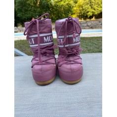 Bottes de neige Moon Boots  pas cher