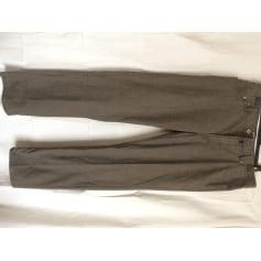 Pantalon droit Pierre Cardin  pas cher