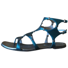 Sandales plates  Sergio Rossi  pas cher