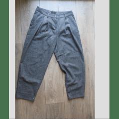 Pantalon large Sisley  pas cher