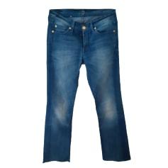 Jeans évasé, boot-cut 7 For All Mankind  pas cher
