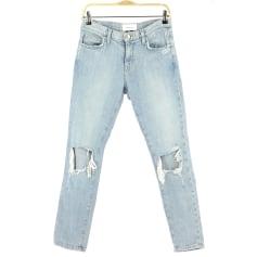 Jeans droit Current/Elliott  pas cher