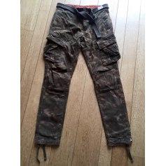 Pantalon droit Superdry  pas cher