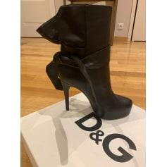 Bottes à talons Dolce & Gabbana  pas cher