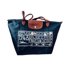 Stofftasche groß Longchamp Roseau