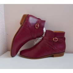 Bottines & low boots plates Sézane  pas cher