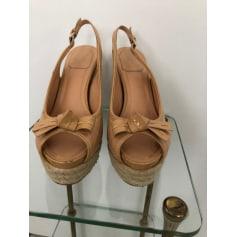 Escarpins compensés Dior  pas cher