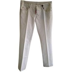Pantalon droit Dsquared2  pas cher