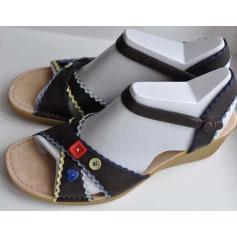 Sandales compensées Camper  pas cher
