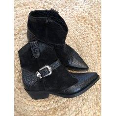 Santiags, bottines, low boots cowboy Emanuele Castro  pas cher