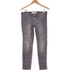 Jeans droit Hollister  pas cher