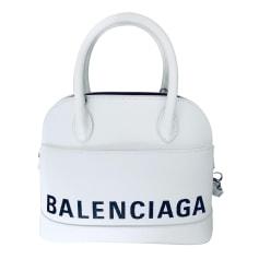 Sac à main en cuir Balenciaga Ville pas cher
