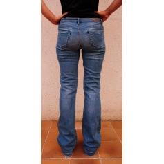 Jeans évasé, boot-cut Massimo Dutti  pas cher