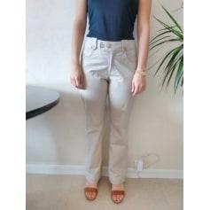 Pantalon évasé multiblu  pas cher