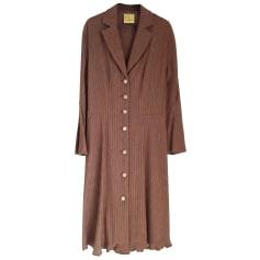 Robe mi-longue Inès de la Fressange  pas cher