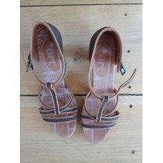 Sandales à talons Art  pas cher