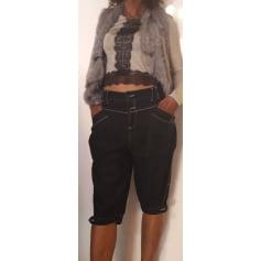 Short en jean Only  pas cher
