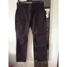 Pantalon droit Galeries Lafayette  pas cher