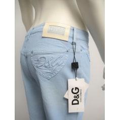 Pantalon évasé D&G  pas cher