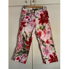 Pantalon droit DIVA MADE IN ITALY  pas cher