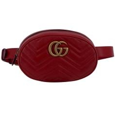 Schultertasche Leder Gucci Marmont