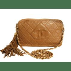 Sac en bandoulière en cuir Chanel  pas cher
