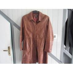 Manteau en cuir DKS  pas cher
