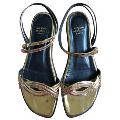 Sandales plates  Karine Arabian  pas cher
