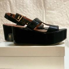 Sandales compensées L'Autre Chose  pas cher