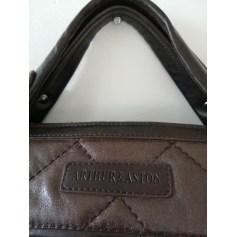 Sac à main en cuir Arthur & Aston  pas cher