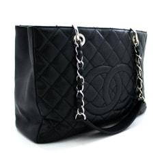 Ledertasche groß Chanel