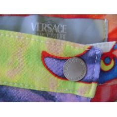 Pantalon slim, cigarette Versace  pas cher