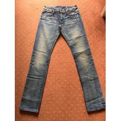 Jeans large, boyfriend Ralph Lauren  pas cher
