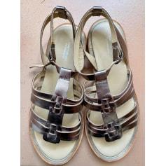 Sandales plates  Comptoir Des Cotonniers  pas cher