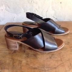 Sandales à talons Kickers  pas cher