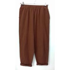 Pantalon large Zanzea  pas cher