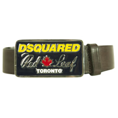 Wide Belt Dsquared2