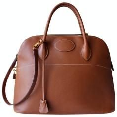 Lederhandtasche Hermès Bolide