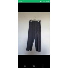 Pantalon très evasé, patte d'éléphant Massimo Dutti  pas cher