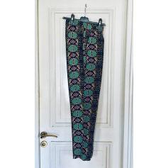 Pantalon droit Emablues  pas cher