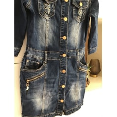 Robe en jeans   pas cher