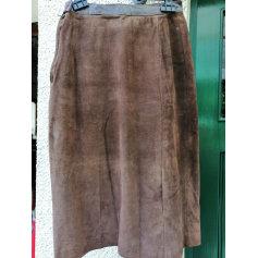 Jupe mi-longue handmade  pas cher