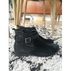 Bottines & low boots plates André  pas cher